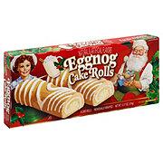 Little Debbie Eggnog Cake Rolls