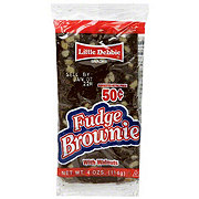 Little Debbie Fudge Brownie With Walnuts