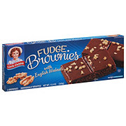 Little Debbie Fudge Brownies with English Walnuts