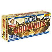 Little Debbie Fudge Brownies with Walnuts Big Pack