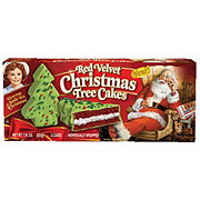 Little Debbie Red Velvet Christmas Tree Cakes