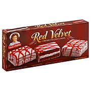 Little Debbie Red Velvet Creme Filled Cakes