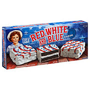 Little Debbie Red White And Blue Cake Chocolate
