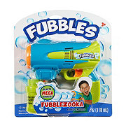 Little Kids Fubbles Bubblezooka Bubble Gun