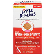 Little Remedies Little Fevers Infant Fever/Pain Reliever Acetaminophen Natural Berry Flavor