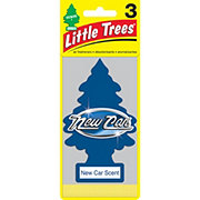 LITTLE TREES Automotive Air Fresheners New Car Scent