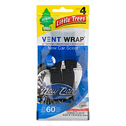 LITTLE TREES Automotive Air Fresheners New Car Scent Vent Wrap
