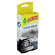 Little Trees Black Ice Visor Wrap