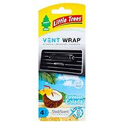 LITTLE TREES Vent Wrap  Caribbean Colada