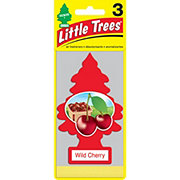 Little Trees Wild Cherry Air Fresheners