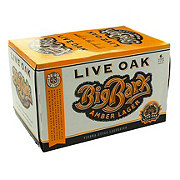 Live Oak Big Bark Amber Lager Beer 12 oz  Cans