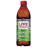 Live Soda Kombucha Living Limon Soda