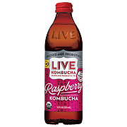 Live Soda Refreshing Rhuberry Kombucha Soda