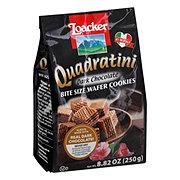 Loacker Quadratini Bite Size Dark Chocolate Wafer Cookies