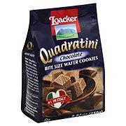 Loacker Quadratini Chocolate Bite Size Wafer Cookies
