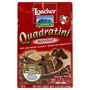 Loacker Quadratini Hazelnut Bite Size Wafer Cookies