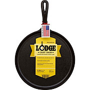 Lodge Seasoned Ready to Use Cast Iron Round Griddle