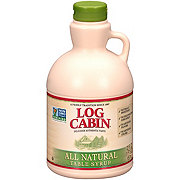 Log Cabin All Natural Syrup
