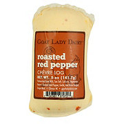 Log Goat Lady Dairy Roasted Pepper