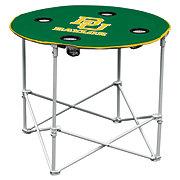 Logo Chair Baylor University Round Folding Table