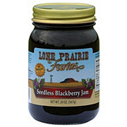 Lone Prairie Farms Seedless Blackberry Jam