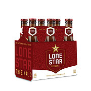Lone Star Beer 6 PK Longneck Bottles