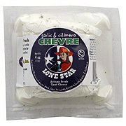 Lone Star Garlic & Cilantro Chevre Goat Cheese