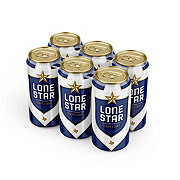Lone Star Light Beer 6 PK Cans