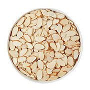Lone Star Nut & Candy Sliced Raw Natural Almonds