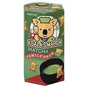 Lotte Koalas March Matcha Green Tea