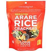 Lotus Foods Sriracha Arare Rice Crackers