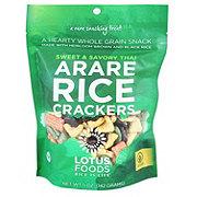 Lotus Foods Sweet & Savory Arare Rice Crackers