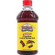 Louisiana Fish Fry Products Concentrated Crawfish Crab and Shrimp Boil