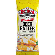Louisiana Fish Fry Products Seasoned Beer Batter Mix