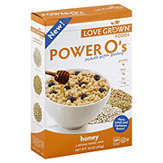 Love Grown Foods Power O's Honey Cereal