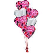 Love Half Dozen Balloon Bouquet