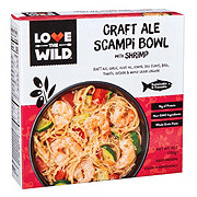 Love The Wild Craft Ale Scampi Bowl With Shrimp