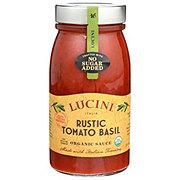 Lucini Organic Rustic Tomato Basil Sauce