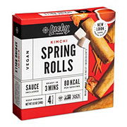 Lucky Kimchi Spring Rolls