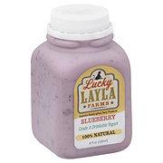 Lucky Layla Drinkable Blueberry Yogurt
