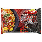 Lucky Me Instant Extra Hot Chili Flavor Pancit Canton