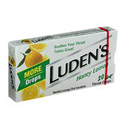 Luden's Honey Lemon Throat Drops