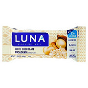Luna White Chocolate Macadamia Nutrition Bar
