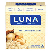 Luna White Chocolate Macadamia Nutrition Bars