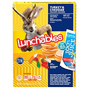 Lunchables Turkey & Cheddar Crackers Stackers With 100% Juice
