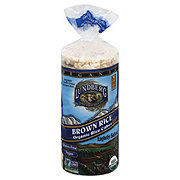 Lundberg Lightly Salted Organic Brown Rice Rice Cakes