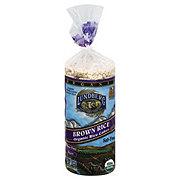 Lundberg Organic Brown Rice Salt-Free Rice Cakes