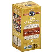 Lundberg Organic Thin Stackers Brown Rice Salt Free