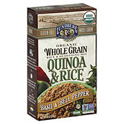 Lundberg Organic Whole Grain Quinoa and Rice, Basil and Bell Pepper