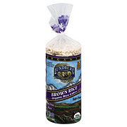 Lundberg Salt-Free Organic Brown Rice Rice Cakes